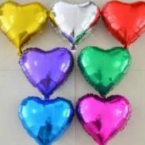 18″ Heart Foil Balloons