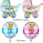 Baby Carriage Shape Foil Balloons