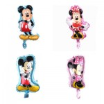 Mickey Mouse Sitter Foil Balloons