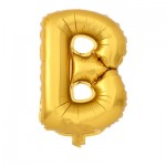 "32"" Gold Letter Foil Balloon B"