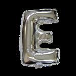 "40"" Silver Letter Foil Balloon E"