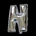 "32"" Silver Letter Foil Balloon N"