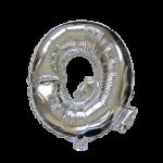 "32"" Silver Letter Foil Balloon Q"
