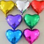 24″ Heart Foil Balloons