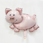 Mini Pig foil balloon