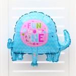 Mini elephant foil balloon