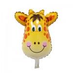 Mini Giraffe foil balloon