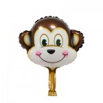 Mini Monkey foil balloon