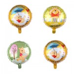 Winnie The Pooh Non Message Foil Balloons