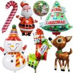 Christmas Decor  foil Balloons