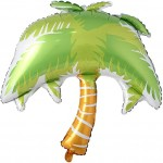 Coconut Palm Tree Foil Balloons