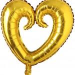 Hollow Heart Shape Foil Balloon