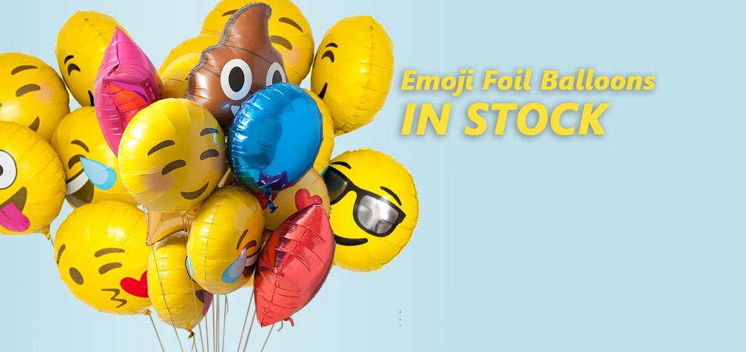 Emoji Foil Balloons